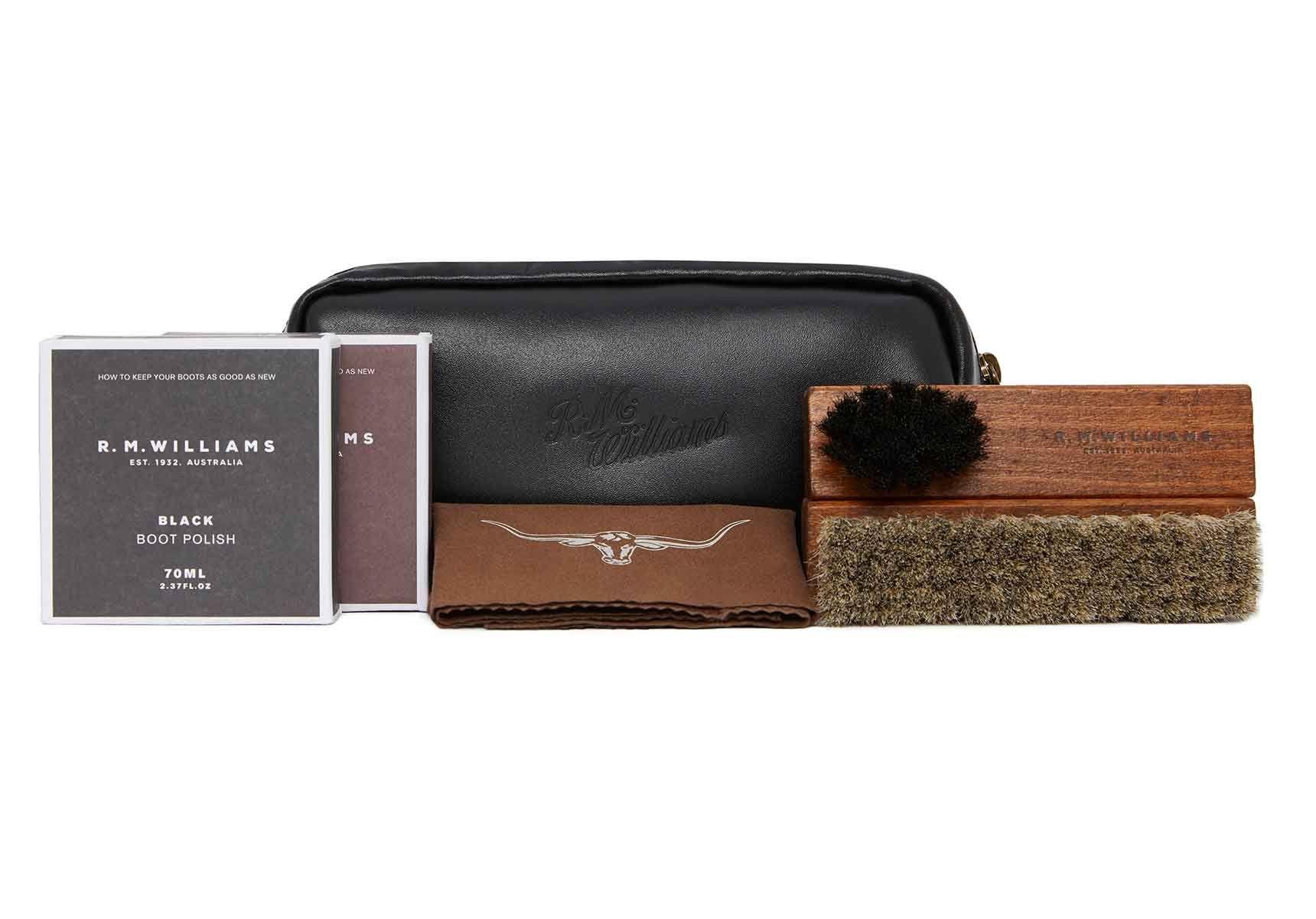 R.M. Williams Leather Travel Care Kit