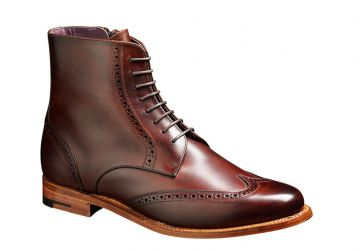 Barker Faye - Walnut Calf - D - Medium - 3 (WORN ONCE)