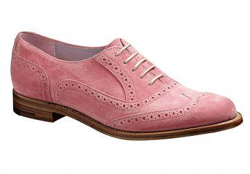 Barker Freya - Pink Suede - D - Medium - 3