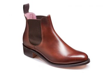 Walnut Calf/Brown Elastic