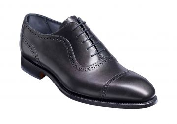 Barker Newmarket - Black Calf - G - Wide - 7.5