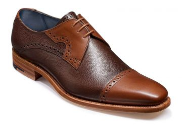 Barker Ashton - Brown Grain/Walnut Calf - F - Medium - 12