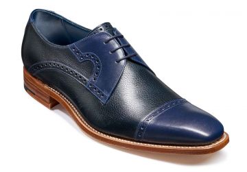 Navy Calf/Navy Grain