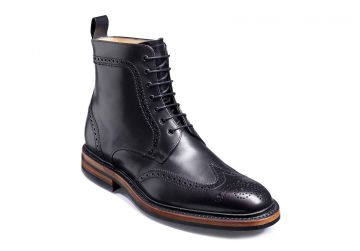 Barker Calder - Black Calf - F - Medium - 6.5