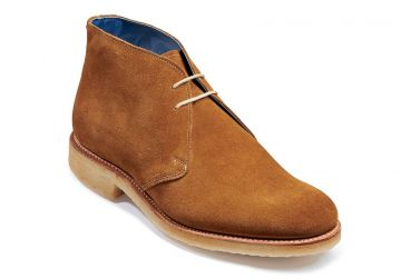 Barker Connor - Sand Suede - F - Medium - 6.5