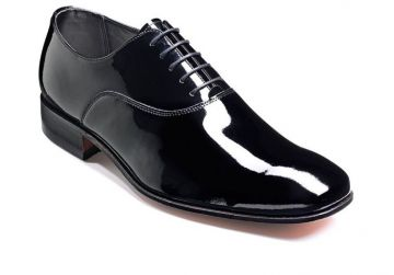Barker Dominic - Black Patent - G - Wide - 11.5