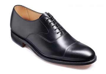 Barker Malvern - Black Calf - Dainite Sole - F - Medium - 10.5