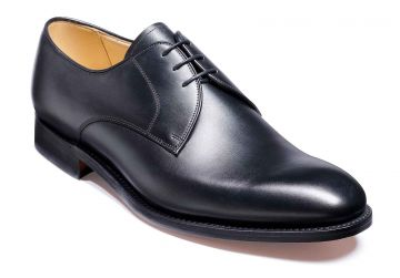 Barker March - Black Calf - Dainite Sole - G - Wide - 6