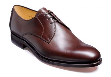 Barker March - Dark Walnut Calf - Dainite Sole - G - Wide - 6.5