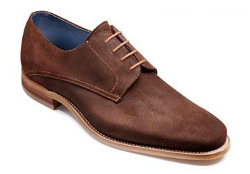 Barker Max - Brown Burnished Suede - FX - Medium+ - 9