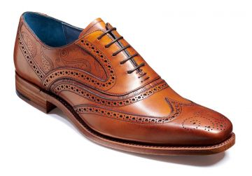 Antique Rosewood Calf/Paisley Laser