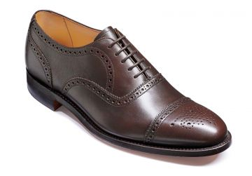 Barker Mirfield - Espresso Calf - Dainite Sole - G - Wide - 8