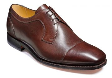 Barker Paignton - Dark Walnut Calf - H - Extra Wide - 7.5