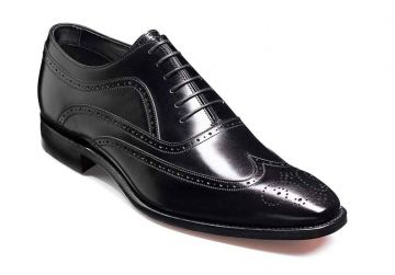 Barker Vivaldi - Black Calf - FX - Medium+ - 5.5