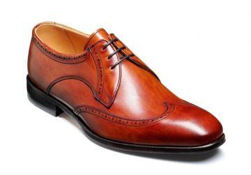 Barker Wimborne - Rosewood Calf - G - Wide - 6
