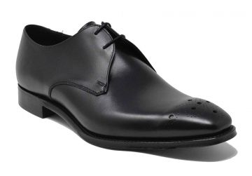 Cheaney Hardy - Black Calf - G - Wide - 6