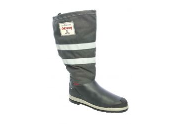 Dubarry Crosshaven - Navy Leather/Grey Cordura - 42
