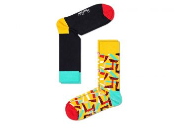 Happy Socks Tiger Chain 2-Pack