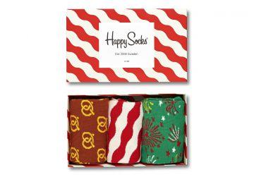 Happy Socks Holiday 3-Pack Box