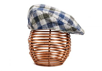 Hata Vintage Tweed Cap - Signature Check