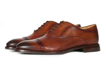 Oliver Sweeney Banari - Dark Tan - F - Medium - 7.5