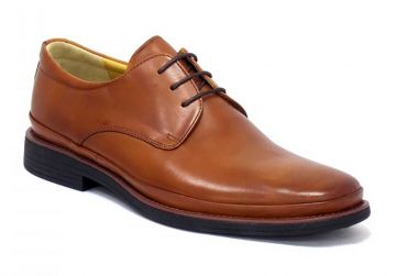 Steptronic Angelo - Cognac - G - Wide - 42