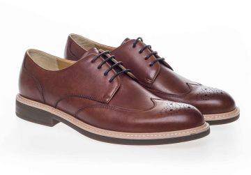 Steptronic George - Cognac - G - Wide - 44