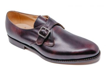 Tricker's Lewiston - Burgundy - F - Medium - 8