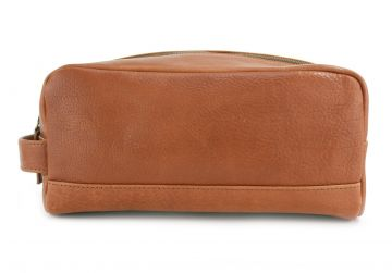 Whiteford Tan Wash Bag
