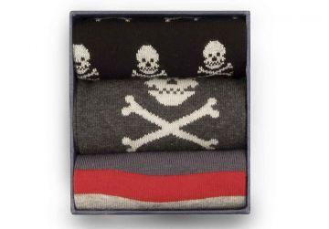 Corgi Skulls Socks Gift Box