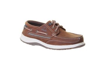 Chatham Yachting - Navy/Brown - 7