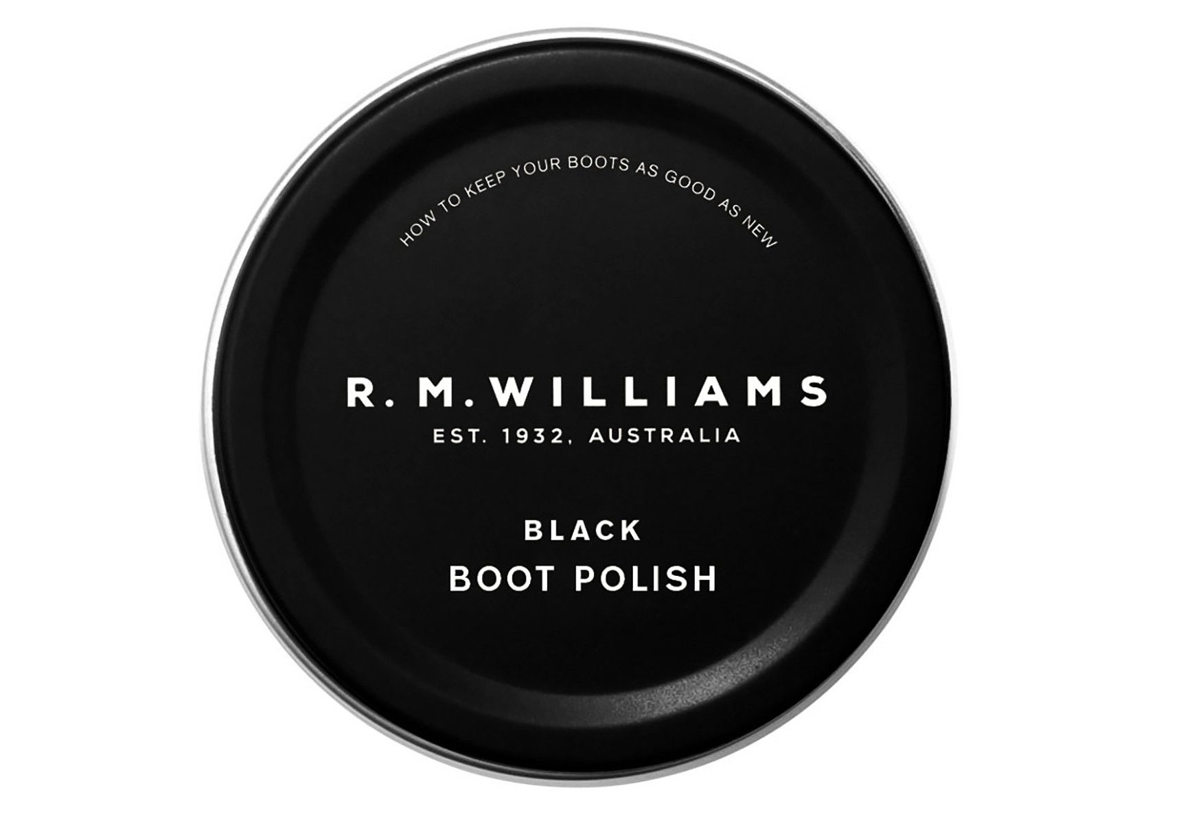 R.M. Williams Stockman's Boot Polish - Black