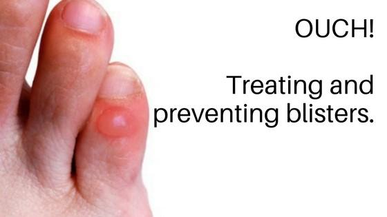 Treating and preventing blisters