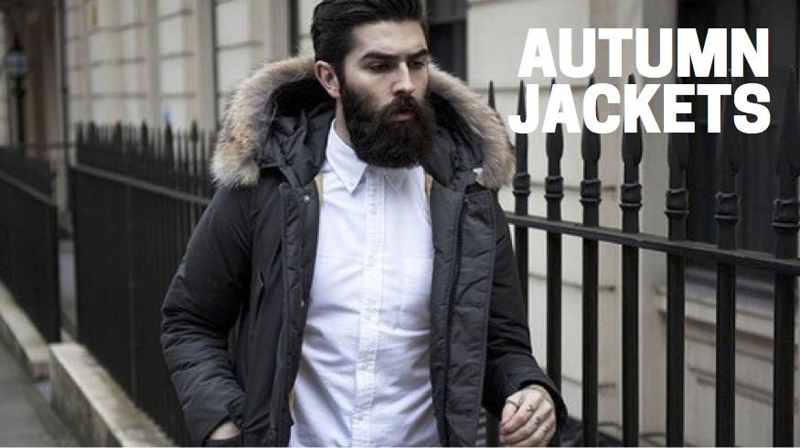 Autumn jackets for men