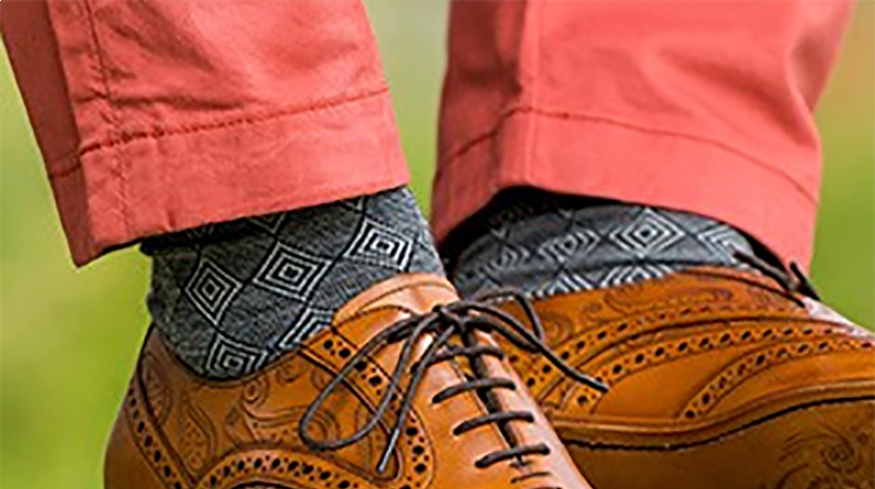 Should your socks match your shoes or your trousers?