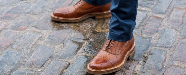 How to Dry Wet Shoes - The Robinson's Shoes Guide