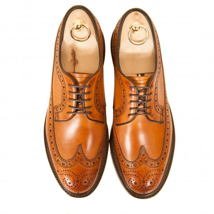Hand Finished Irish Brogues Fit for a US President!