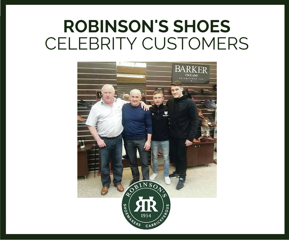 Robinson's Shoes Celebrity Customers