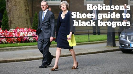 Robinson's Shoes guide to black brogues