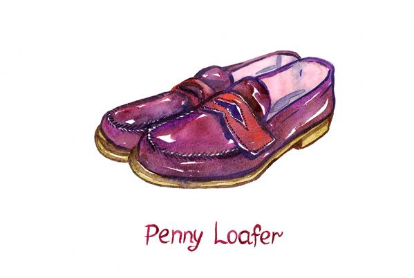 Why are they called penny loafers?