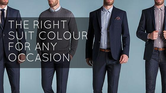 The right suit colour for any occasion