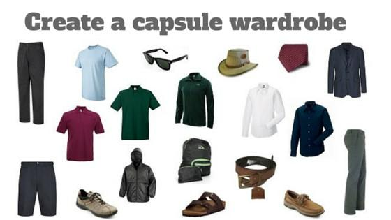 Create a capsule wardrobe for men