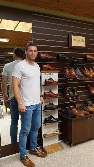 Ulster Rugby star and his new shoes