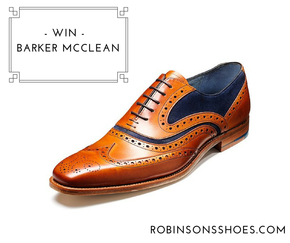 Win a pair of stylish Barker McClean shoes