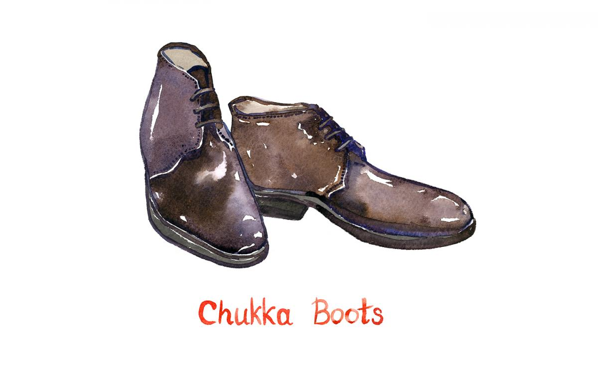 Can chukka boots be worn in the summer?