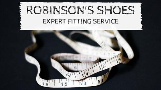 Robinson's Shoes Expert Shoe Fitting Service