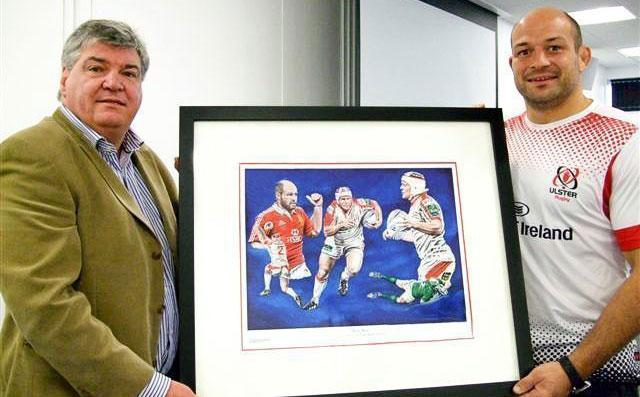 Private sale of limited edition Rory Best print