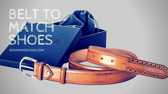 Shoes matching your belt - What do you think?