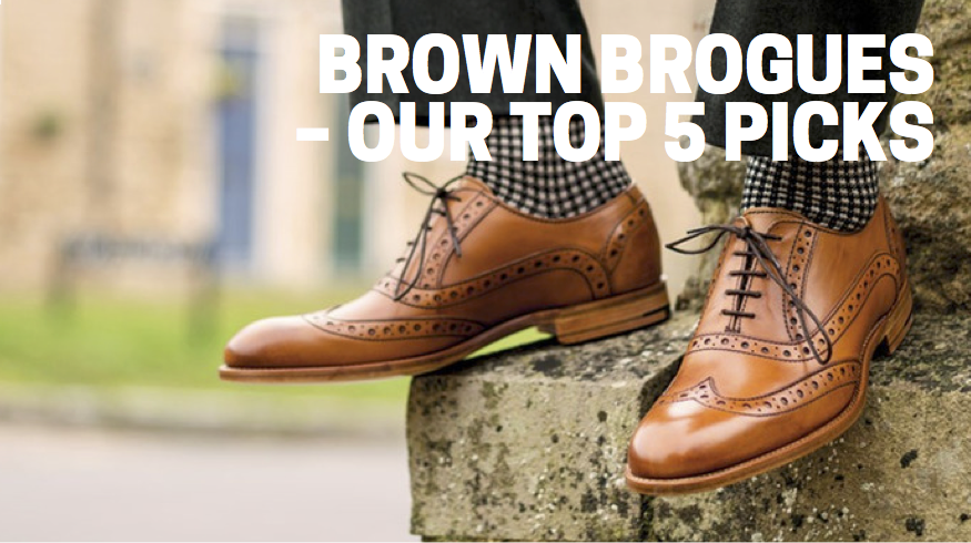 Brown brogues – our top 5 picks