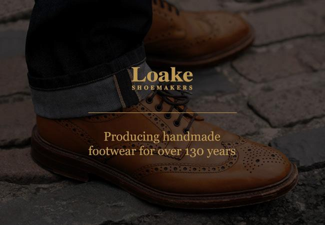 Loake Shoes at Robinson's Shoes
